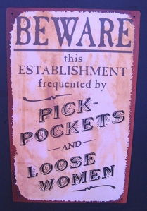 Beware Sign by OakleyOriginals