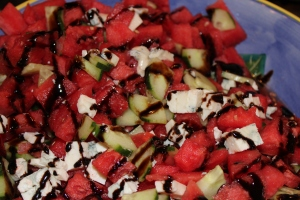 Watermelon salad by morethanexpat